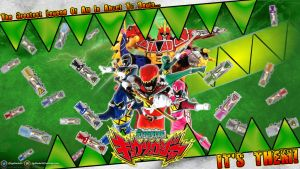 Kyoryuger Premiere Wallpaper by egallardo26
