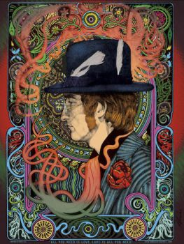 Lennon Colour by SteveHarradine
