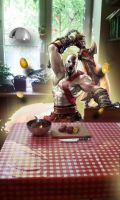god of war by HokutoBoy