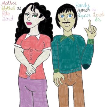 My Loud House Cast: Mother Gothel and Randy Marsh by TheLuLu99