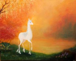 The Last Unicorn by Lizeth