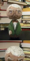 Doctor Who- 3rd Doctor Kokeshi by Charis