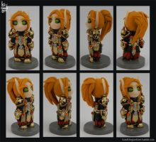 Mini Blood Knight Figurine by kicat