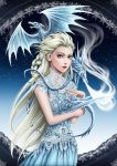 GoT x Frozen_ Daelsa Targaryen by lydia-the-hobo