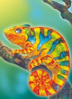 Chameleon by Fany001