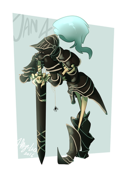 CDC - Jan 4: Knight of The Undead by 7-Days-Luck