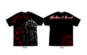 Gears of war 3 t-shirt by IReckLess