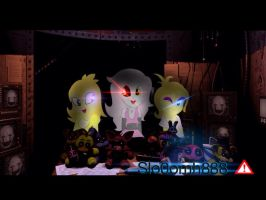 five nights at freddy's 2 my little pony by Slo0omh888