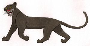 Bagheera Colored by jeswise