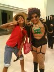 luffy y emporio by akimaa