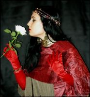 The Lady of the White Rose by Lady-CaT