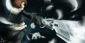 Squall comission FFVIII by Neryko