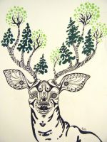 Bambi Birch by Rock-a-nator