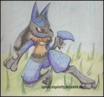 Re: Lucario by CyNicaL-sINguLarIty