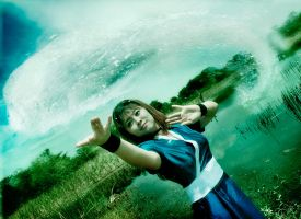 Aang's Waterbending Teacher by RacoonFactory