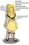 Magi OC: Reha by Engelmoon