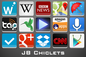 Android Icons | JB Chiclets by lostintortola