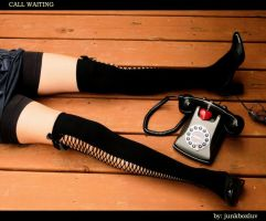Call Waiting by junkboxluv