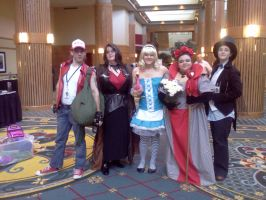 Cosplayers at Roundcon 5 by Kyuubichowderfan