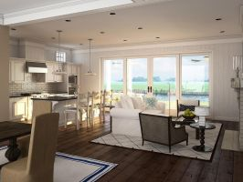 Scotch Hall Kitchen by zodevdesign