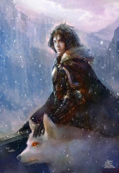 Jon Snow by TeiIku