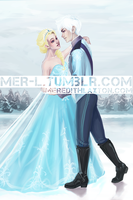 Winter Courtship by Arialene