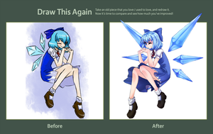 Draw this Again::Cirno by blind-decisions