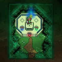 Link to the Past Master Sword by likelikes
