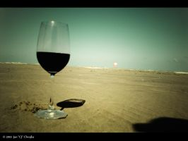 Wine and Beach by CJ35