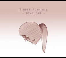 Simple Ponytail [ DOWNLOAD ] by Aia-Aria