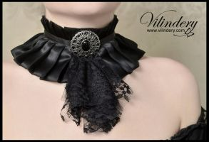 Victorian Gothic Choker by vilindery