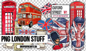 +London PNG Stuff. by DropsOfHearts
