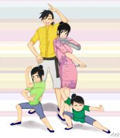 Xing family training by naokokaoru21
