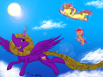 GIFT: Fly With Me by xHardwirex