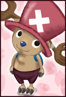 One Piece Chopper Coloured by Frog-of-Rock
