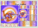 Pokemon Fairy Light and Ghost Shadow ''056'' by AndkeAnka