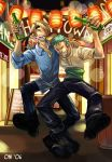 Sanji and Zoro by zetallis