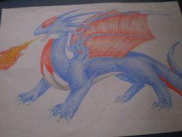 Salamence is a DRAGON. by Silverbirch