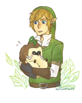 link and machi by corket