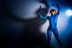 Samus Cosplay 2 by Mistress-Zelda