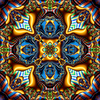 Baroque reconstruction of a fractal element by ivankorsario