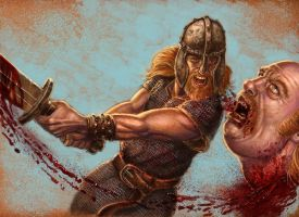 Viking Kill by Hungrysparrow