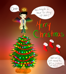 Angel on the Tree by Sammsy-Chan