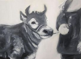 Cow 10 by hollrock