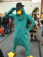 Perry the Platypus cosplay by Oloring