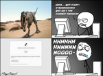 The Scariest Dinosaur (Rage Comic 22) by 1RageComic1