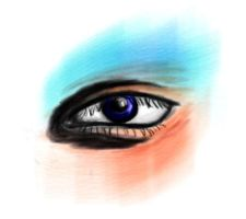 watercolor eye by sexy-physics-geek