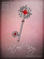 Steel Key by Rittik