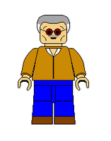 LEGO Spec. Character Stan Lee by Gamekirby