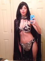 Back to my cosplay roots: Darth Slave Leia! by roxypotter13